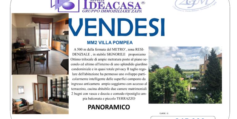 CASSINA DE PECCHI MM2 VILLA POMPEA